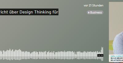Podcast: Design Thinking für und mit Kindern
