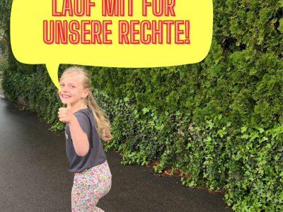 Die KIDS REVOLUTION laufen für Kinderrechte!