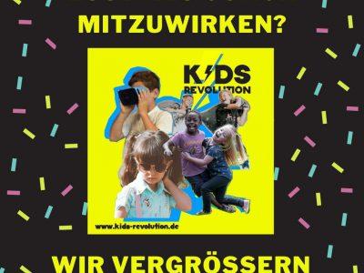 KIDS REVOLUTION sucht Coaches!